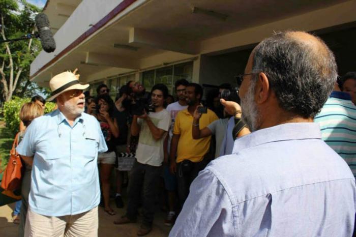 Francis Ford Coppola está en Cuba