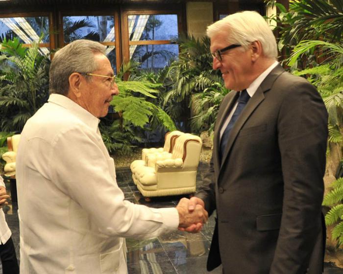 Raul a reçu le Ministre allemand des Affaires étrangères