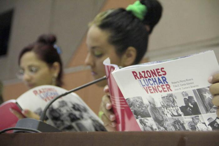 Presentan libro dedicado a los jóvenes cubanos