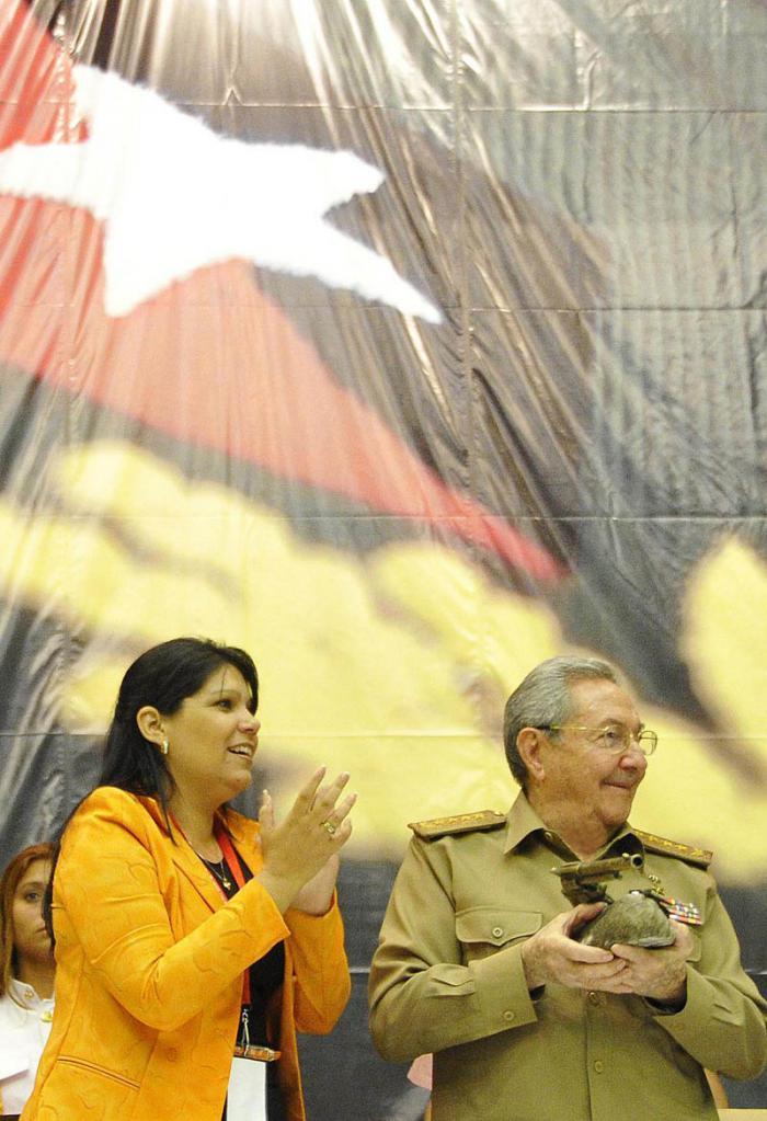 """Raúl Castro sobre evento de la UJC: """"Este ha sido un gran Congreso"""""""