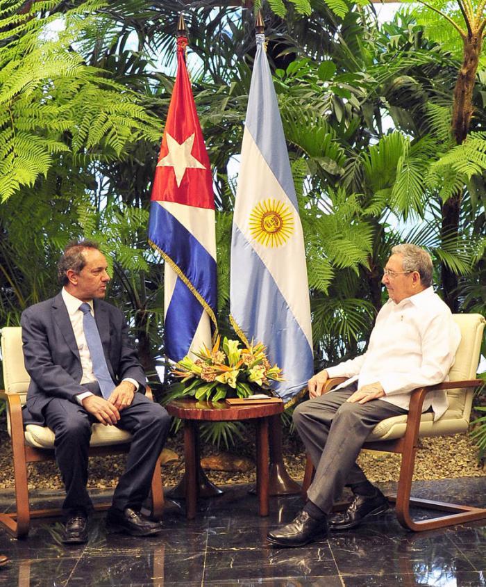Recibió Raúl al Gobernador de Buenos Aires