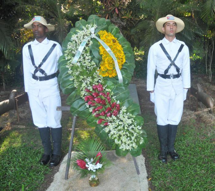 Homenaje a Juan Fajardo Vega, último mambí