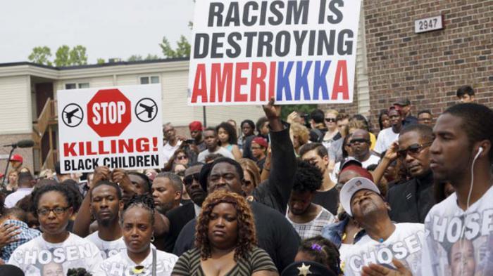 La comunidad negra en Estados Unidos exige que se respeten sus derechos.