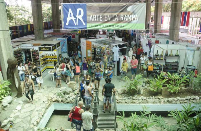 Feria Arte en la Rampa 2015.