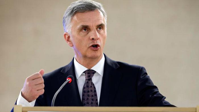 Canciller de Suiza llegará a Cuba en visita oficial