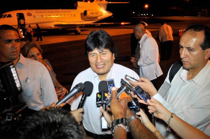 En Cuba Evo Morales para celebrar cumpleaños de Fidel