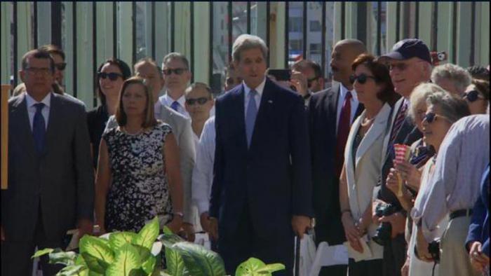 Kerry en La Habana: