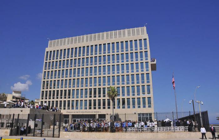 Apertura de Embajada de Estados Unidos en Cuba