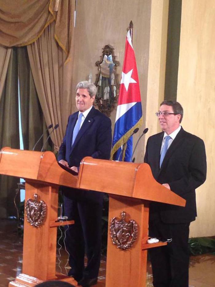 John Kerry: Tenemos la determinación de seguir hacia adelante