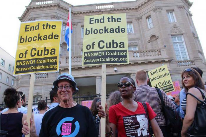 Comienza Jornada en Washington contra el bloqueo