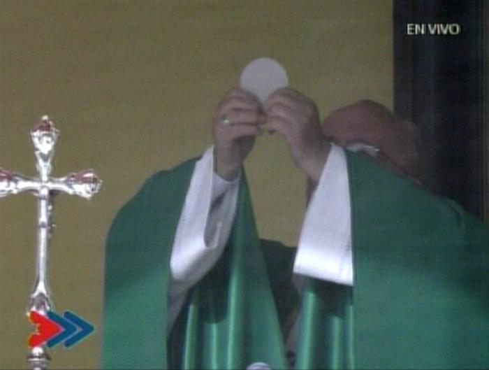 El Papa Francisco en la Santa Misa