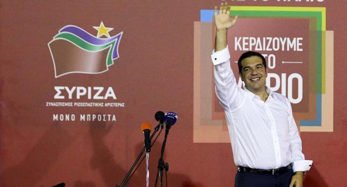Confirman las estadísticas victoria del partido de Tsipras en Grecia