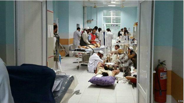 bombardeo a hospital de médicos sin fronteras