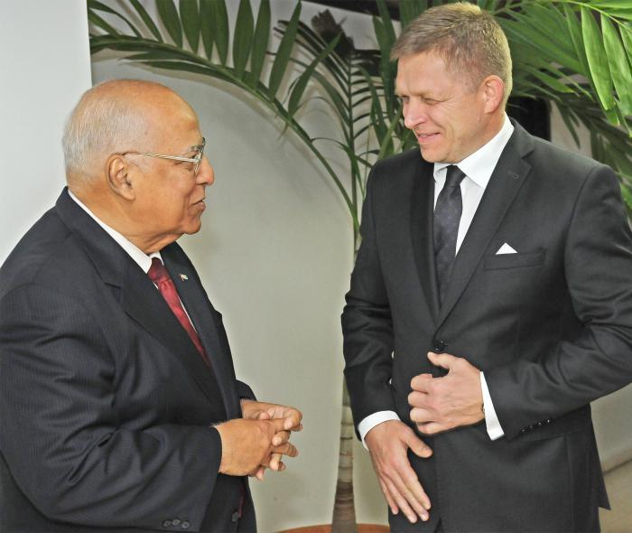 Sostiene encuentro Cabrisas con Primer Ministro eslovaco