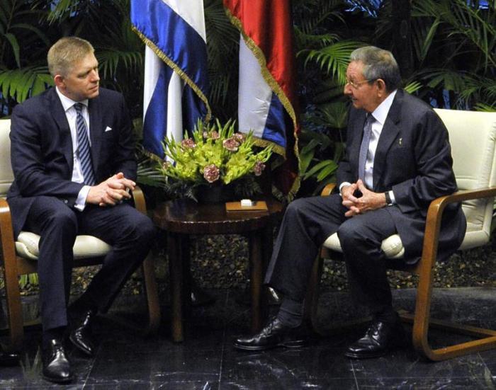 Recibió Raúl al Primer Ministro de Eslovaquia