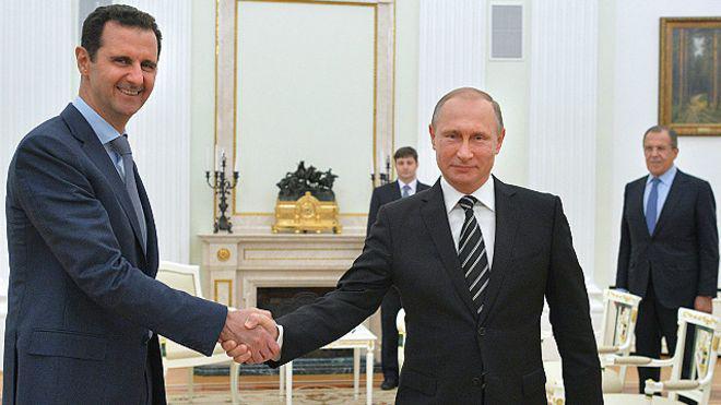 Bashar al Asad se reúne con Vladimir Putin en sorpresiva visita a Rusia