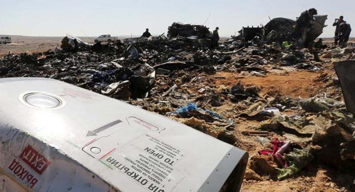 Continúa investigación sobre accidente de avión ruso en Egipto