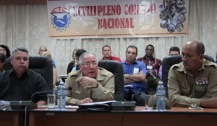 Fuerzas Armadas Revolucionarias rinden cuenta ante la clase obrera cubana