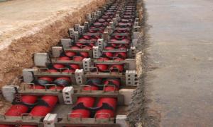 Cable soterrado de 110 Kv en Varadero.