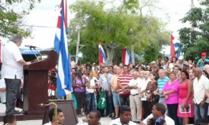 Pacifistas denuncian desde Caimanera política agresiva imperial