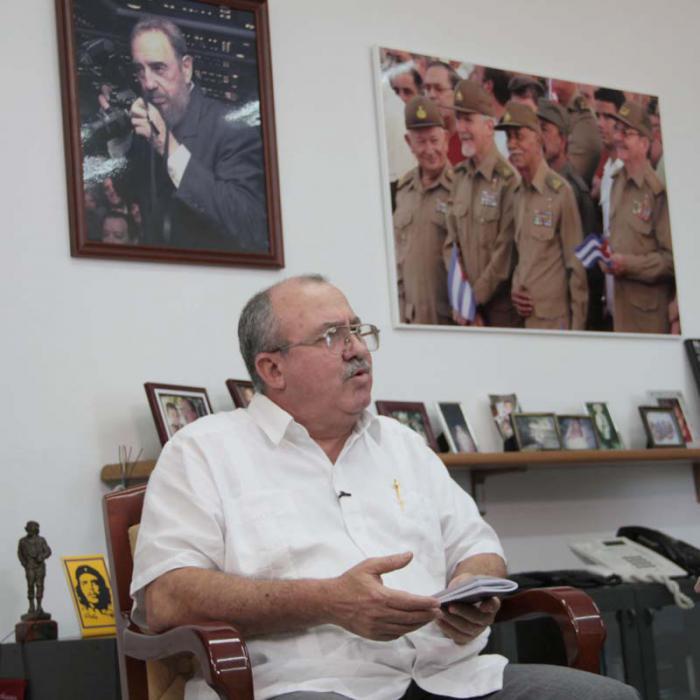 Fiscal General de Cuba dialoga con rectora de Academia rusa