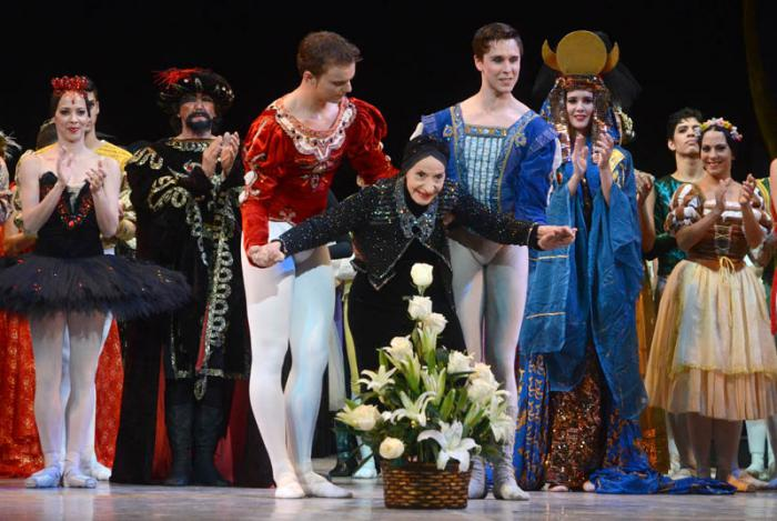 Alicia Alonso's 95th Birthday Celebration at National Theater