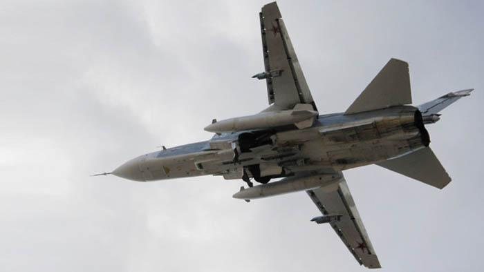 Avión ruso SU-24