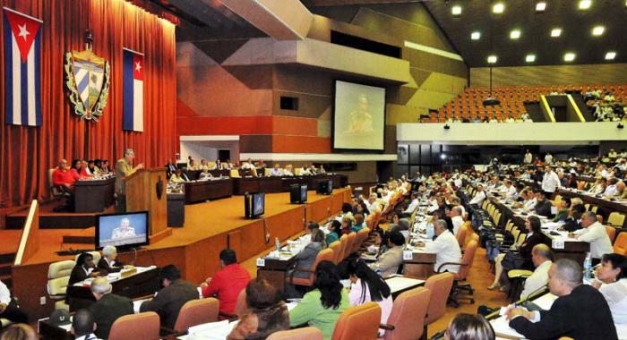VI Período Ordinario de Sesiones de la VIII Legislatura de la Asamblea Nacional del Poder Popular, Asiste el General de Ejército Raúl Castro Ruz, Presidente de los Consejos de Estado y de Ministros
