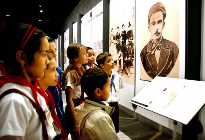Visita realizada al Memorial José Martí de la Plaza de la Revolución