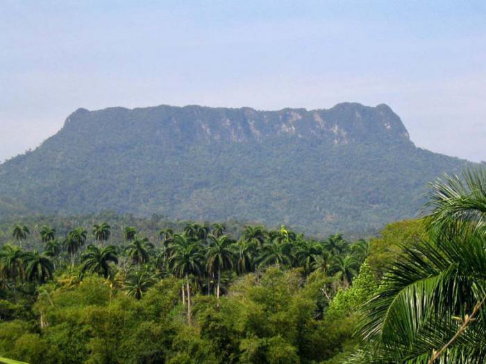 El Yunque de Baracoa.