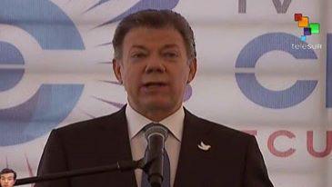 Presidente colombiano agradece a CELAC por apoyo a la paz