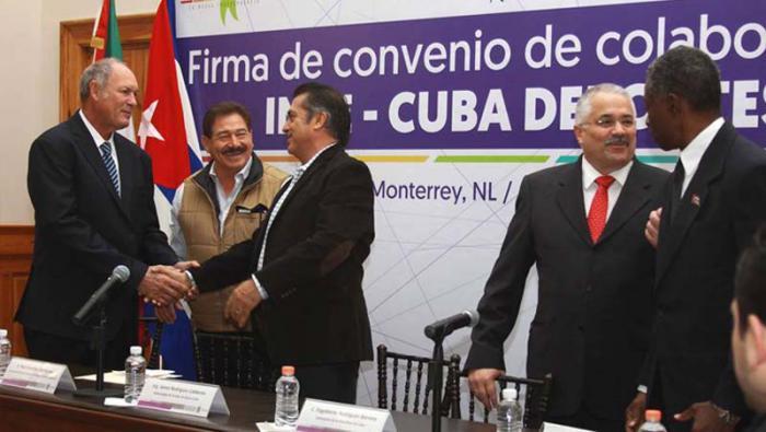 Cuba y México firman convenio en materia de Deporte