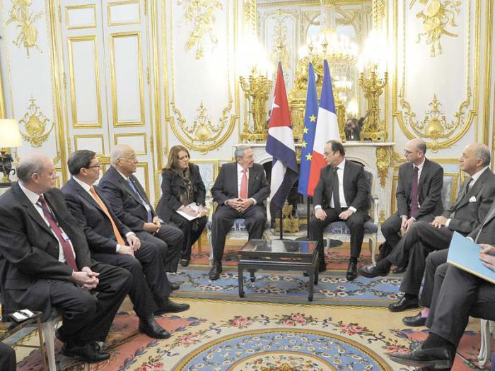 Cuba y Francia abren nueva página en sus relaciones bilaterales