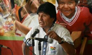 Durante una entrevista, Evo Morales afirmó que trabaja en aras de que el pueblo boliviano conquiste su total soberanía.