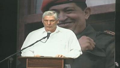Destaca vicepresidente cubano legado revolucionario de Hugo Chávez