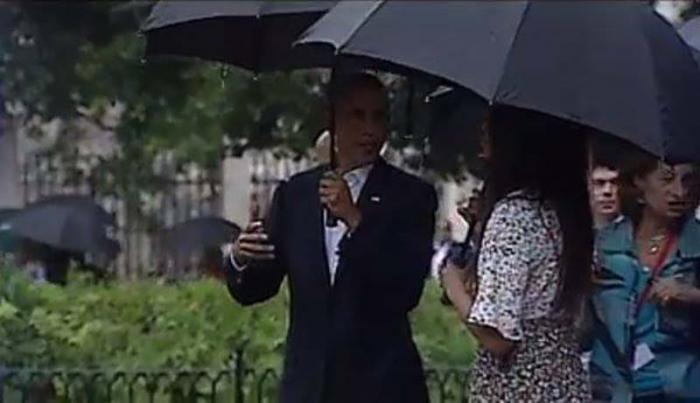 Recorre Obama casco histórico de La Habana