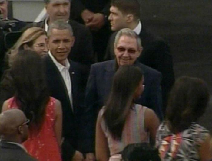 Cuban Media Highlight Raul Castro's Farewell to President Obama