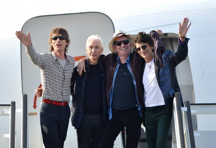 Llegan los Rolling Stones a La Habana
