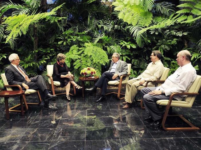 Dialoga Raúl Castro con Secretaria Ejecutiva de la CEPAL