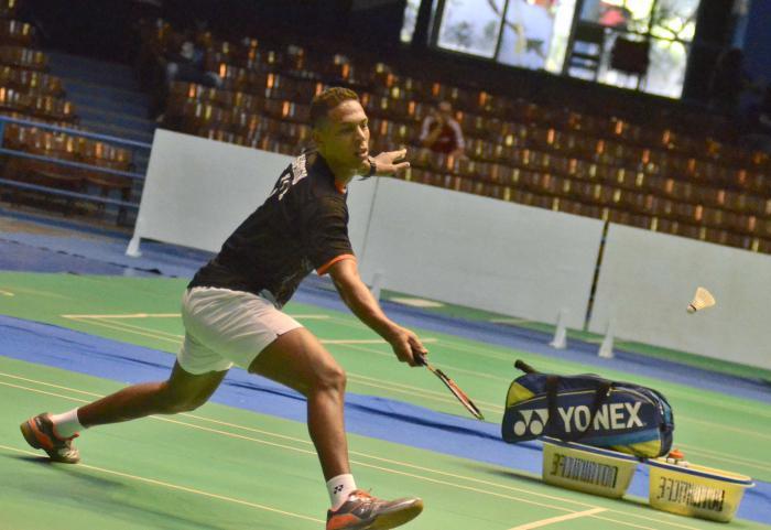 Bádminton Osleni Guerrero conquista el título en torneo Giraldilla