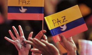 El pueblo colombiano apoya las conversaciones para lograr la paz.