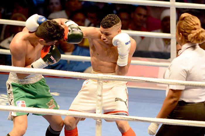 Equipo Domadores de Cuba en semifinales de Serie mundial de Boxeo