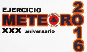 Ejercicio Meteoro 2016