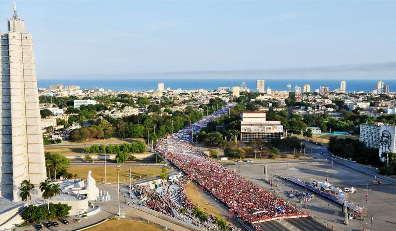Destaca periódico uruguayo participación del pueblo cubano en el 1ro de Mayo