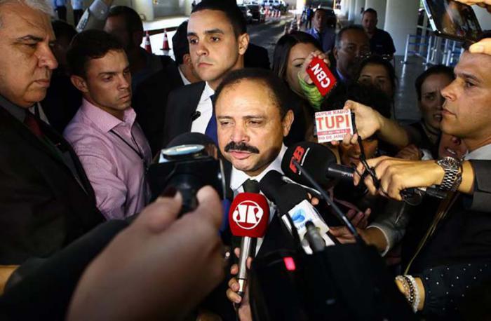 El presidente interino de la Cámara de Diputados de Brasil, Waldir Maranhão. Foto. EPA