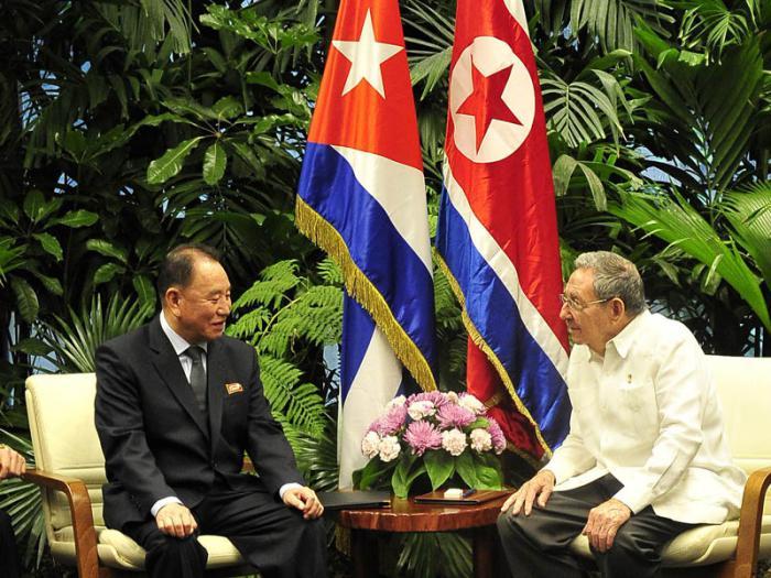 Recibió Raúl a Kim Yong Chol, Enviado Especial del Presidente del Partido del Trabajo de Corea