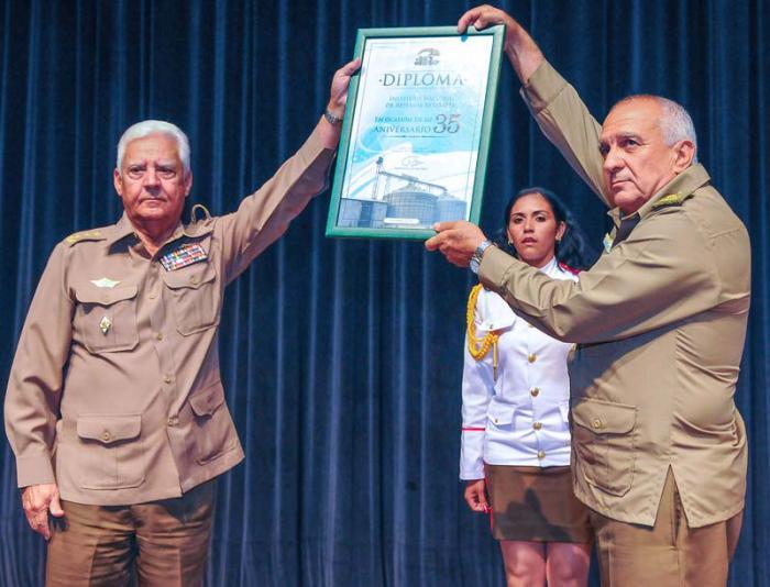 Instituto Nacional de la Reserva Estatal celebra su aniversario 35