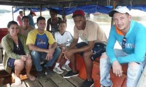 Los rostros dicen de la juventud que prima en el personal de salud emplazado en Río Negro.