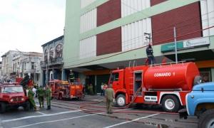 Incendio en la Tienda Yurumí