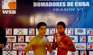 Boxeo-VI serie mudial de Boxeo-Cuba vs Uzbequistan 49 kg Argilagos